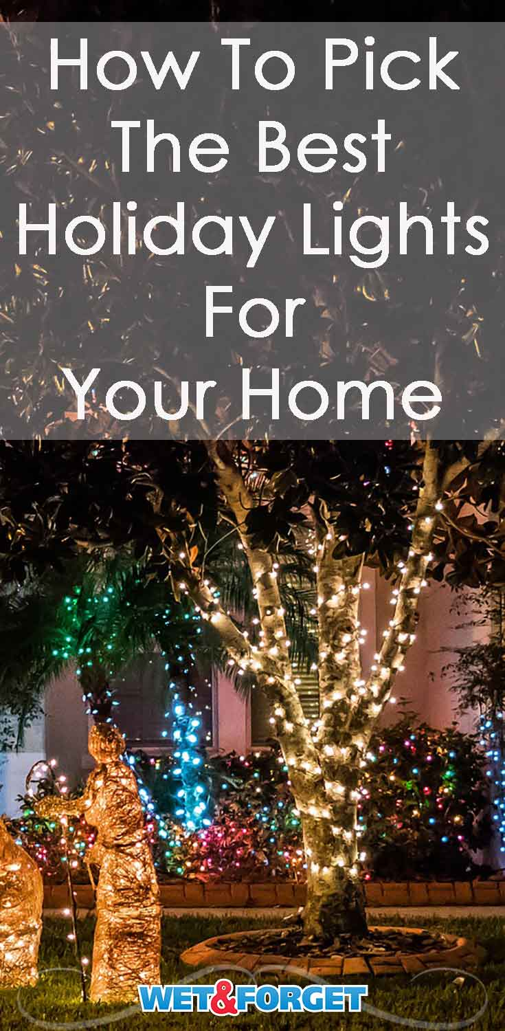 There are many options when it comes to decorating your home for the holidays. Pick out best lights for your home with our guide!