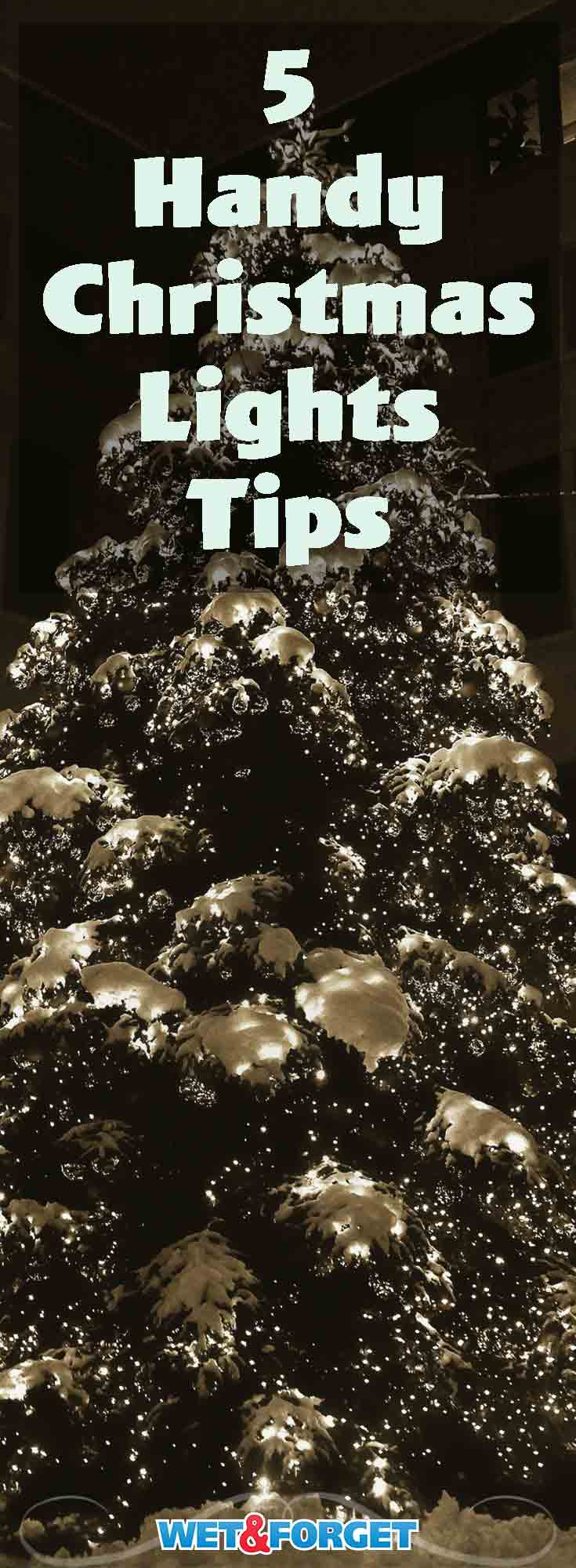 Hanging and storing Christmas lights can get complicated quickly. Use these 5 tips to simplify organizing and decorating with Christmas lights.
