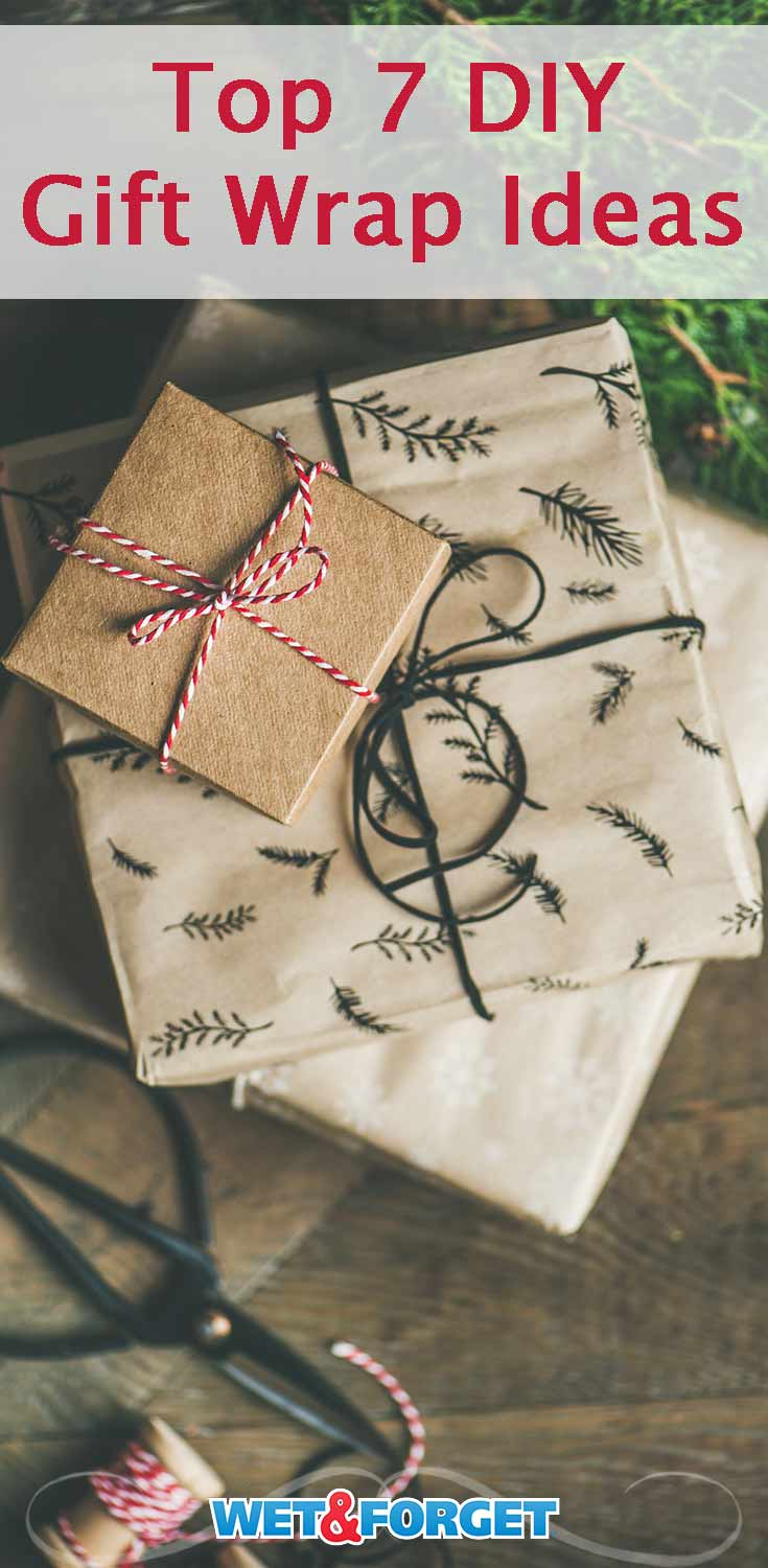 Get crafty this holiday season with these beautiful DIY gift wrap ideas!