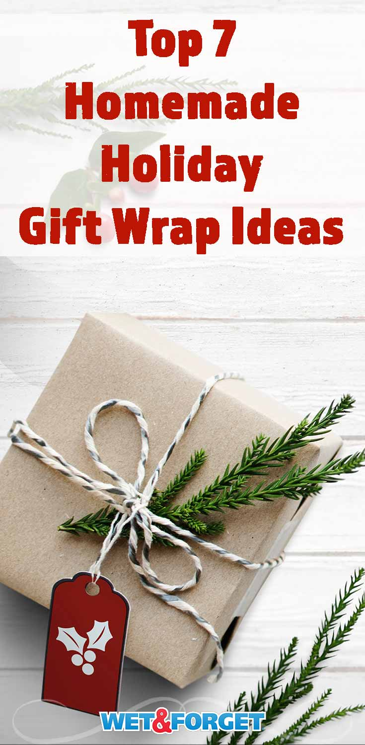 Give your gifts a unique homemade look with our favorite DIY gift wrap ideas!