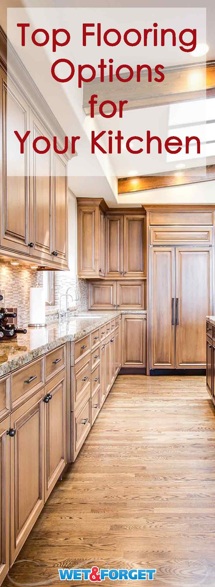 It can be difficult to decide what type of flooring you want to use in your kitchen. Discover which new flooring option suits your kitchen best with this easy to follow guide.