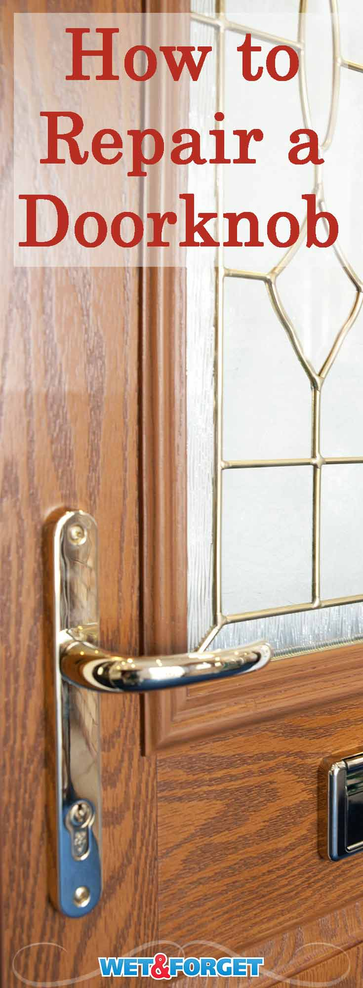 Do you have a damaged or loose doorknob? Learn how to repair or replace your doorknob with these easy steps!