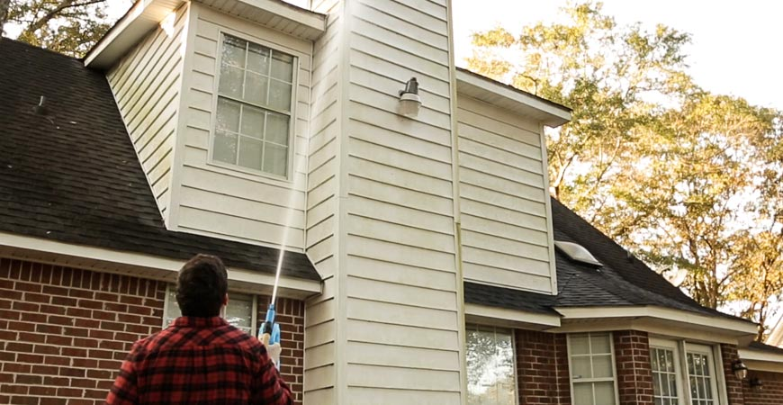 Reach the second story of your home without a ladder!