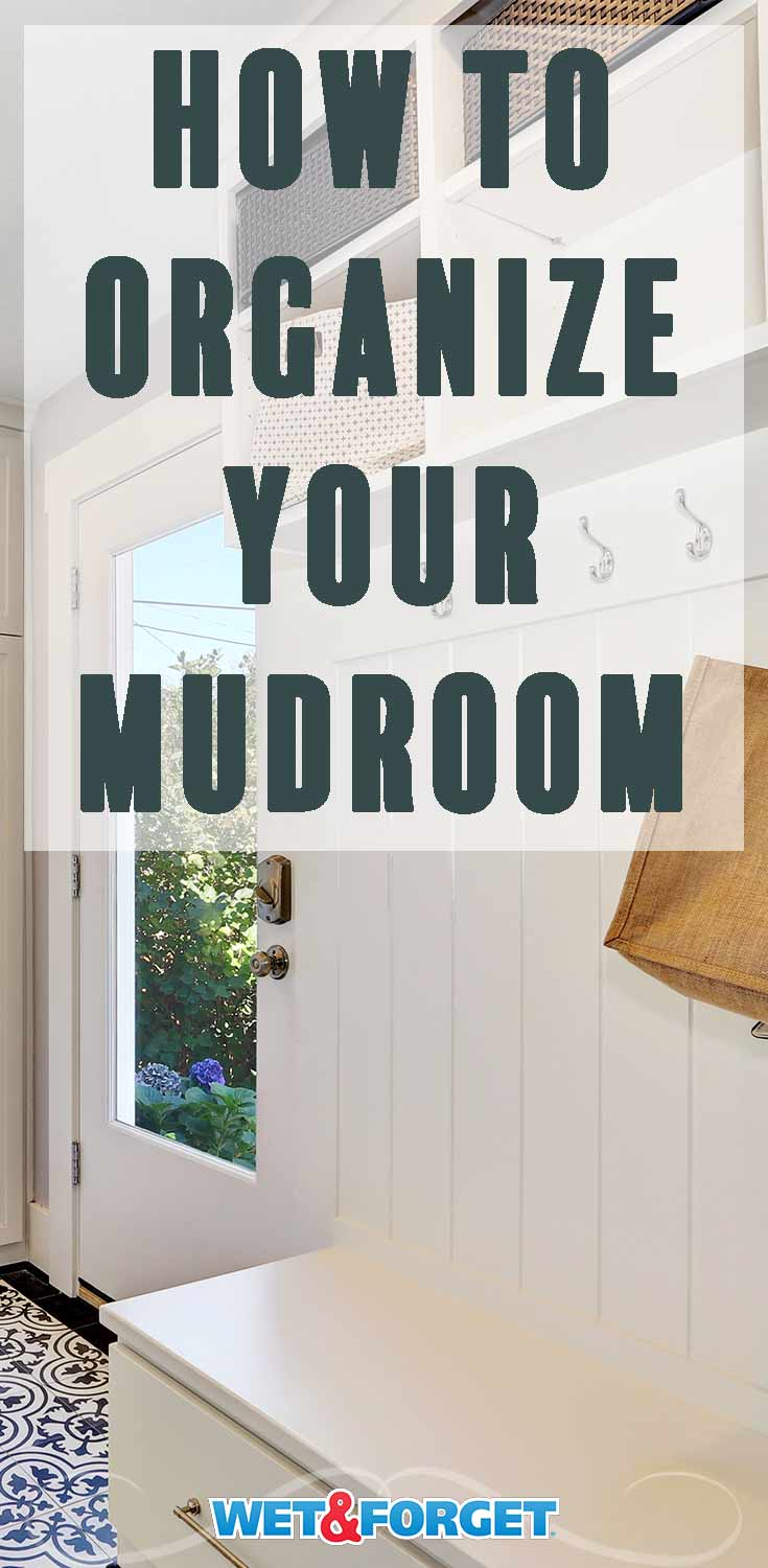 Mudrooms and entryways can become cluttered so quickly! Use these clever solutions to organize your mudroom.