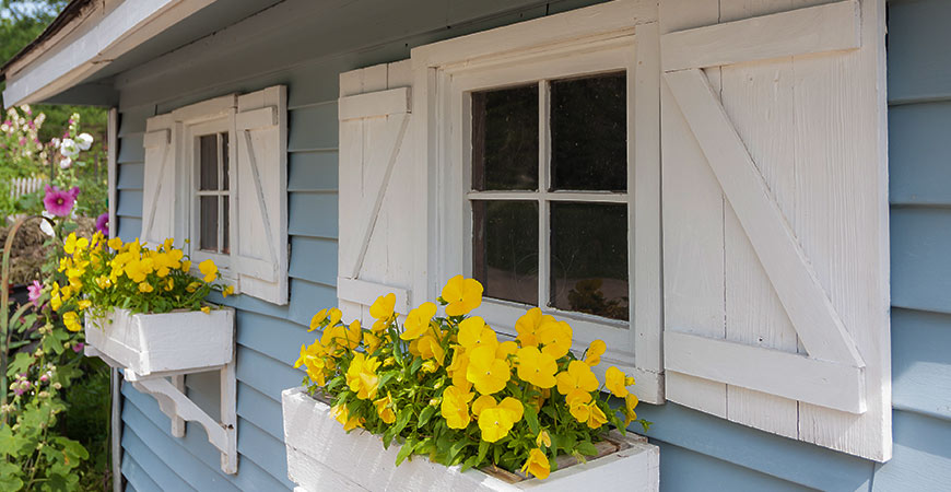 Spruce up your home with one of these shutter designs!
