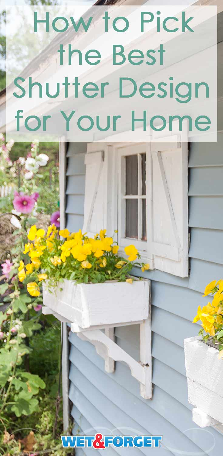 Use our guide to pick out the most suitable shutters for your home!