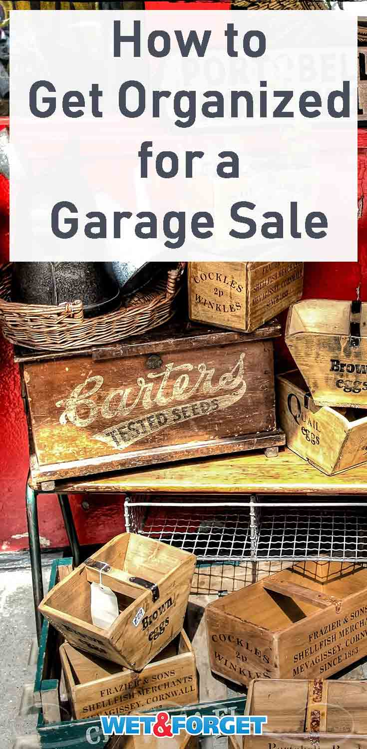 Summer is here which means it's the perfect time to throw a garage sale! Use our tips and tricks to get organized for your garage sale.