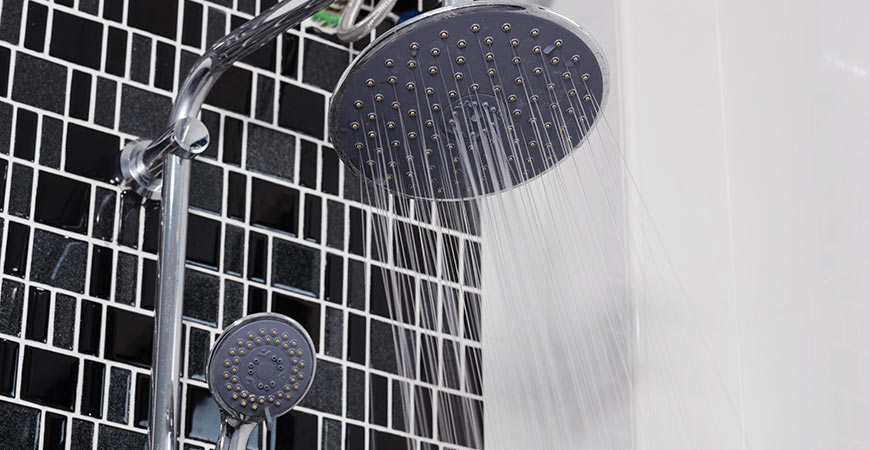 Another great addition to a luxurious bathroom is a new shower head!