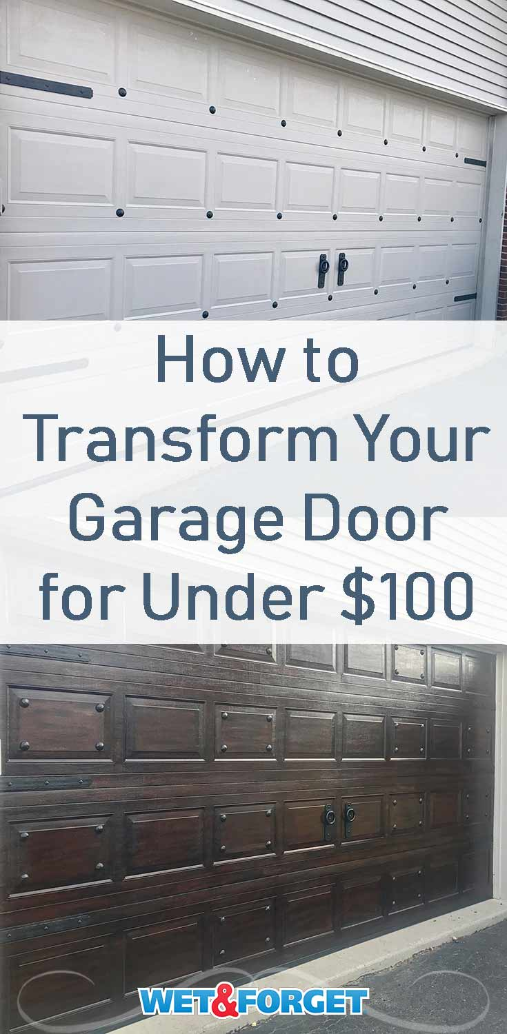Give your garage door a wood-like look with a gel stain! Learn how to complete this look with our step-by-step tutorial.