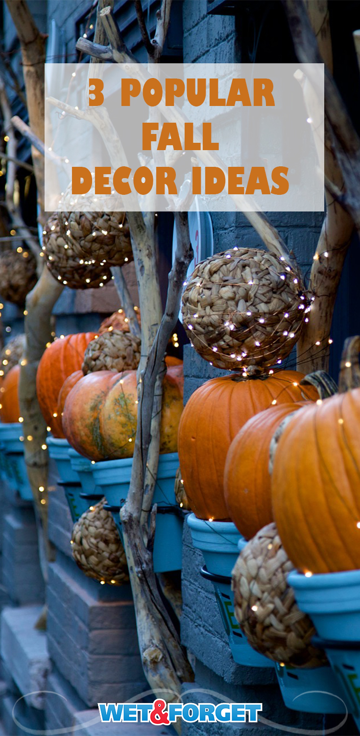 Decorate your home for the Fall with these cute Fall decoration ideas.