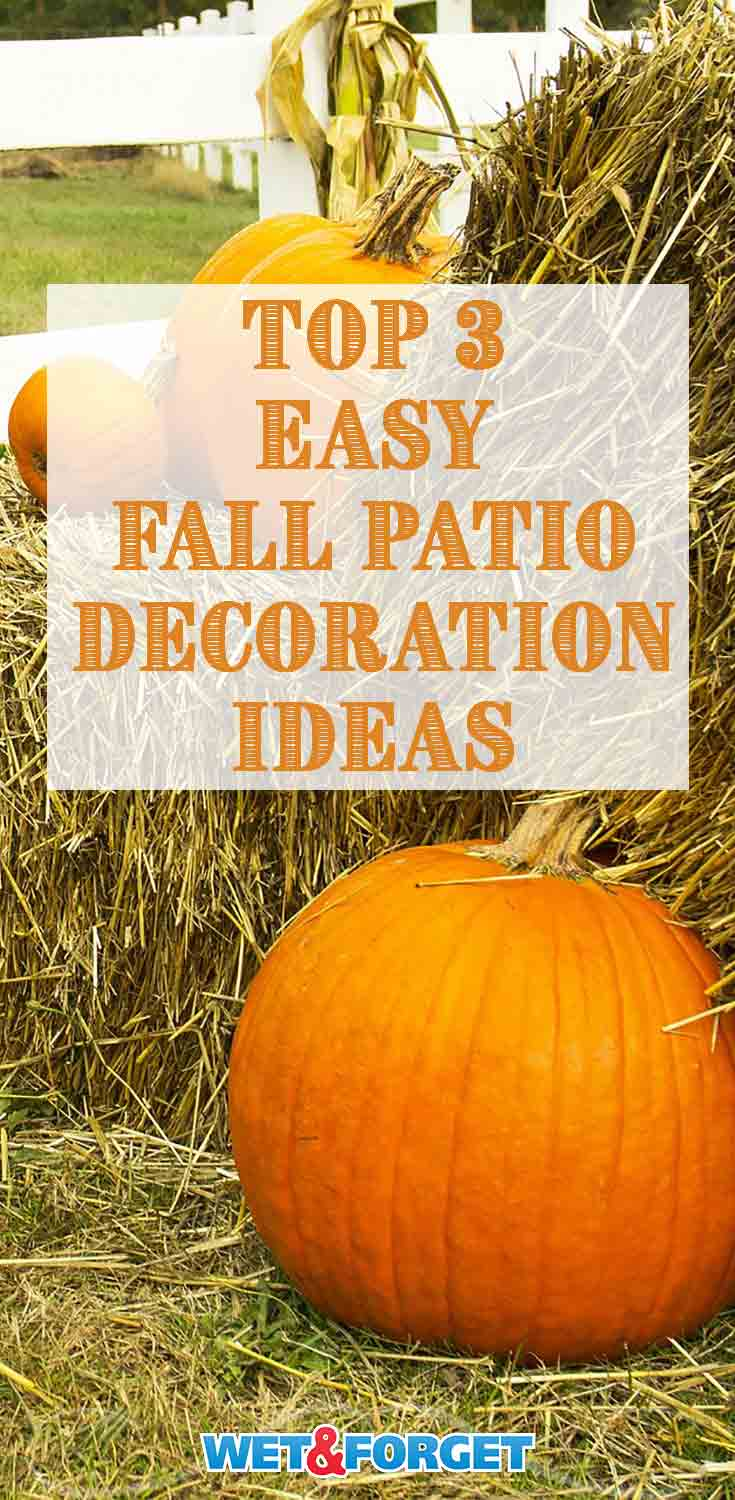 Make sure your patio or porch is ready for trick or treaters with these easy decorating ideas!