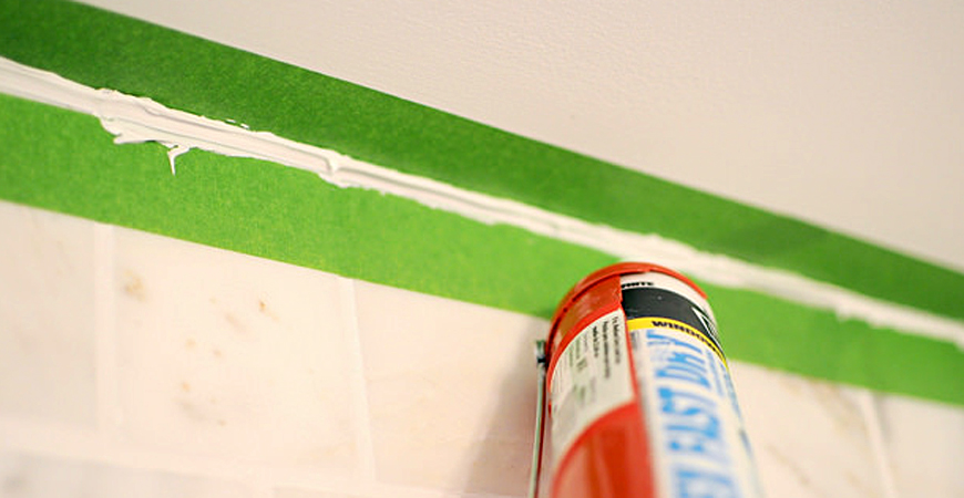 shower caulking tips